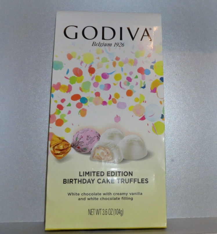 Godiva Limited Edition Birthday Cake Truffles My Chocolate